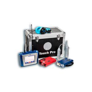 Microcorr Touch Pro localização de fugas Hidromelhoras