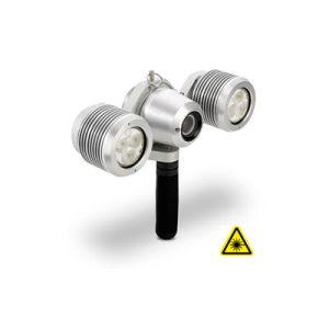 Cerberus Câmara axial para inspeção de coletores hidromelhoras