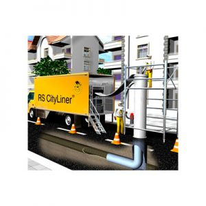 Cityliner® reparação de tubagens sem escavações hidromelhoras