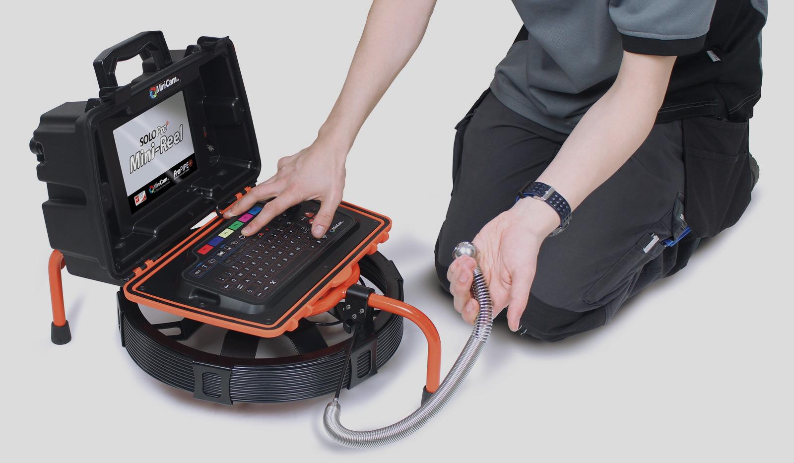Completa o teu sistema SOLOPro+® com o novo tambor Mini-Reel